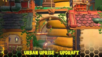 Yooka-Laylee and the Impossible Lair - Urban Uprise - Updraft