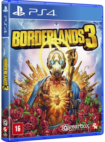 Borderlands 3 - Boxart Brasil PS4