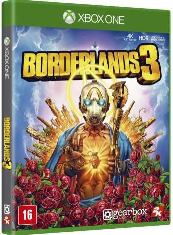 Borderlands 3 - Boxart Brasil XO