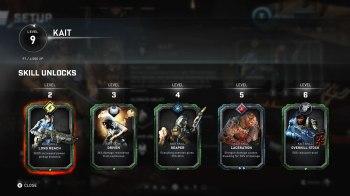 Gears 5 Horda - Character Unlocks