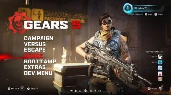 Gears 5 Horda - Main Menu Horde Highlight