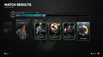 Gears 5 Horda - Postmatch Skills