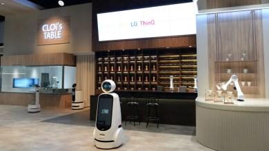 Foto de LG apresenta avanço da Inteligência Artificial na CES 2020