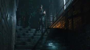 Resident Evil 3 - Carlos_Stairs