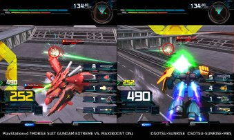 Mobile Suit Gundam Extreme VS Maxiboost ON - 01