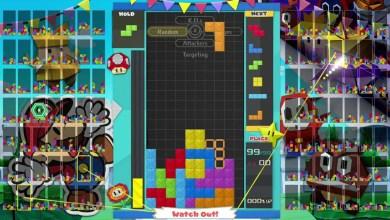 Foto de Paper Mario surge no próximo final de semana em Tetris 99