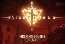 Foto de Blightbound faz pacto com atualização Mão Amiga