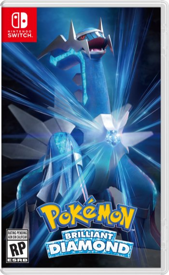 Pokemon Shining Pearl Boxart