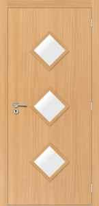 Portas de Madeira com Vidro - Sólidas