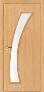 Portas de Madeira - Portas Internas Sólidas - Portas de Madeira com Vidro