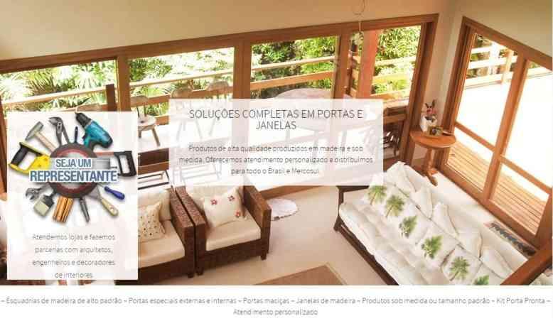 Venda de esquadrias de madeira - Portas de madeira de luxo - Portas de entrada decorativas e especiais - Maciças e sólidas - Externas e internas