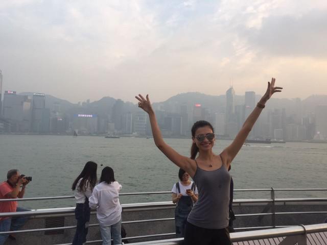 Fotos: Beatrice na China - Arquivo Pessoal/Destac Assessoria