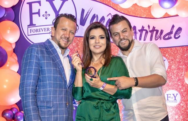 Mara Maravilha com Esmail Safaddine e Medi Safaddine
