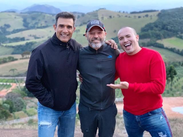 Marcos Pasquim, Leonardo Bueno e Júnior Pacheco