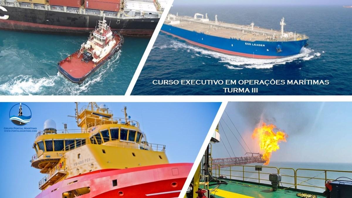 Inscreva-se na Terceira Turma do Curso Executivo em Operações Marítimas
