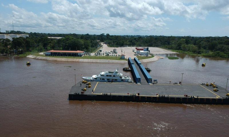 Novo Porto de Itacoatiara recebeu R$ 66 milhões em investimentos