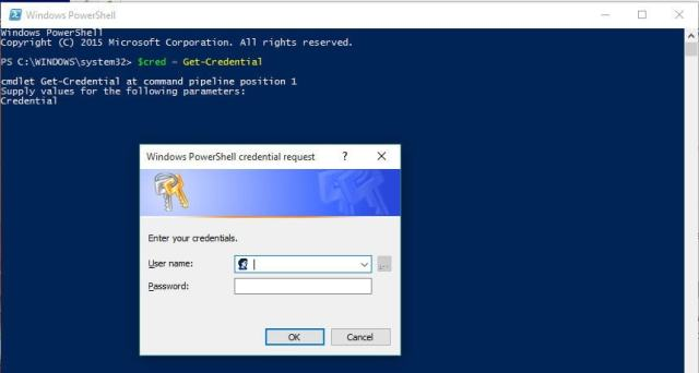 powershell-credential