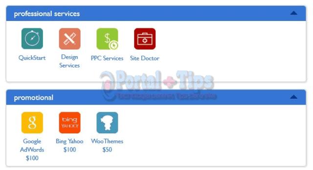 bluehost-cpanel-services-promotional-menu