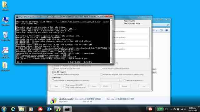 wsus-offline-updater-ejecutando