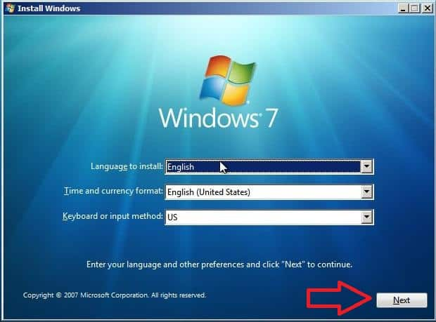2 windows 7 bootmgr is missing seleccion