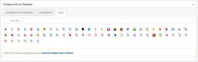 Wordpress download manager icono