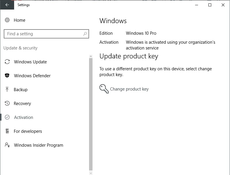 Windows 10 home a pro pro instalado