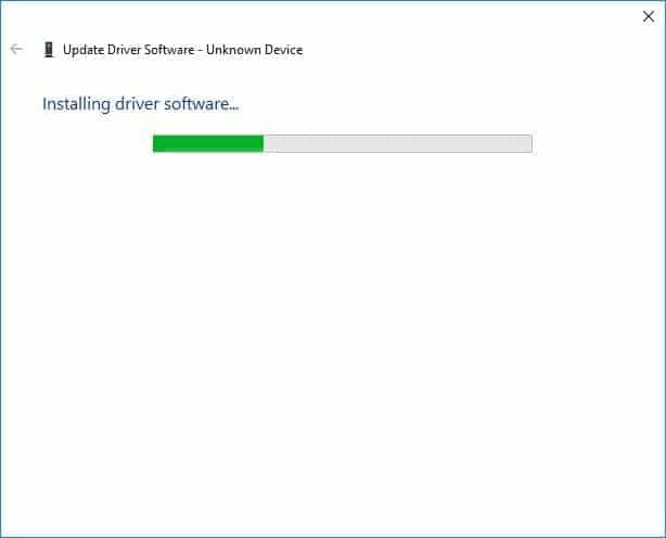 Instalar manualmente controlador Qualcomm Atheros AR3011 Bluetooth 3.0 - Instalando controlador