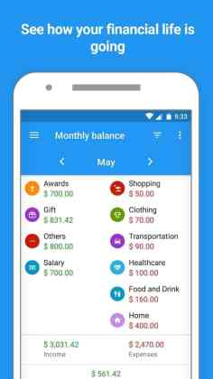 Mobills: Budget Planner - Balance mensual