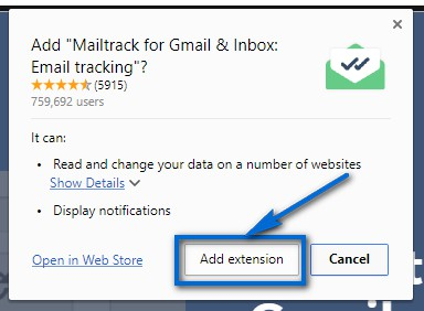Seguimiento De Correos En Gmail Add Extension