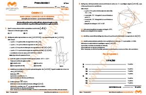 9Ano Provas Modelo Matemática 2014 2015 portalmath