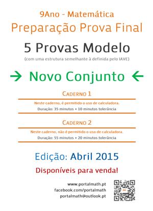 9Ano Provas Modelo Matemática Abril 2015