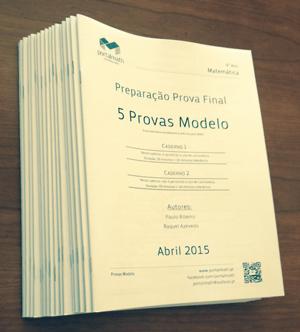 9º ano Provas Modelo Matemática Abril 2015 portalmath