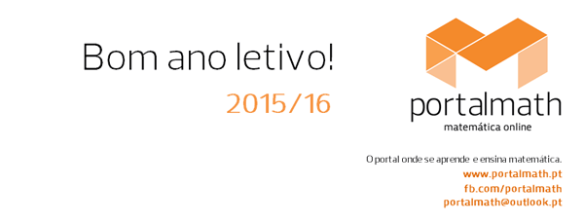 Bom Ano Letivo 2015/16 PortalMath