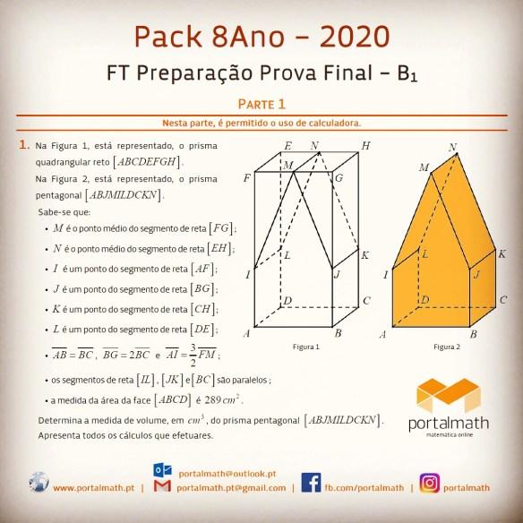 Packs Materiais 2020 portalmath Preparação Prova Final Prova Aferição Matemática exercícios com calculadora sem ficha de trabalho provas modelo