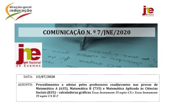 Calculadoras Gráficas Exames 2020 Matemática Secundário TI Nspire CX