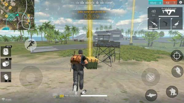 Free Fire el juego de supervivencia