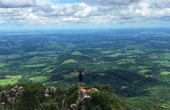 Cerro Tres Kandú el punto más alto del Paraguay