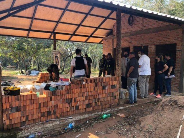 Incautaron 346 kg de marihuana en Piribebuy