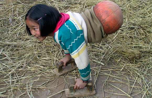 Qian Hong Yan - Basket Ball Girl