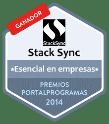 Ganador como Esencial para empresas en los Premios PortalProgramas al mejor software libre 2014