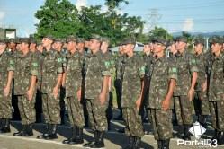 Incorporação do contingente 2017 na 11ª e 12ª Cia E Cmb L em Pinda. (Foto: Alex Santos/PortalR3)