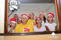 Cantata de Natal no Museu de Pindamonhangaba. (Foto: Luis Claudio Antunes/PortalR3)
