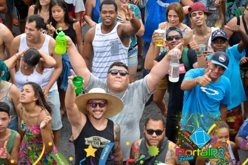 Bloco do Barbosa no carnaval 2018 de Pindamonhangaba. (Foto: Alex Santos/PortalR3)