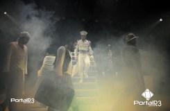 """Encerramento do Feste 2018 em Pinda com premiação e espetáculo """"Estádio de Sítio"""". (Foto: Luis Claudio Antunes/PortalR3)"""