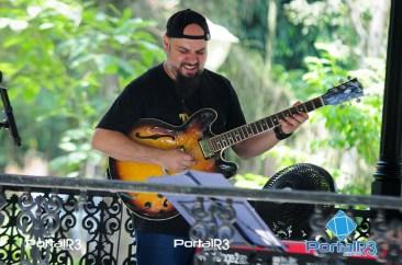 Banda Fusion de la Muzik no Sons do Bosque. (Foto: Luis Claudio Antunes/PortalR3)