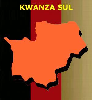 Mapa de Kwanza-sul