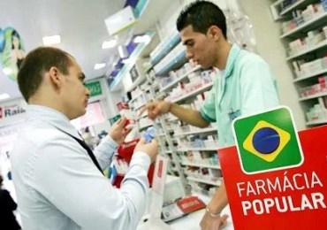 Venda de remédios em farmácia popular terá limite de idade