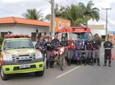 Samu e bombeiros se unem em parceria em Lauro de Freitas