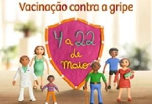 Mais de 14,5 milhões de brasileiros já foram vacinados contra gripe