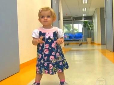 Menina com cardiomiopatia fica curada